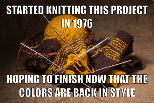 Knitting Meme : How to knit a coaster modern homemakers